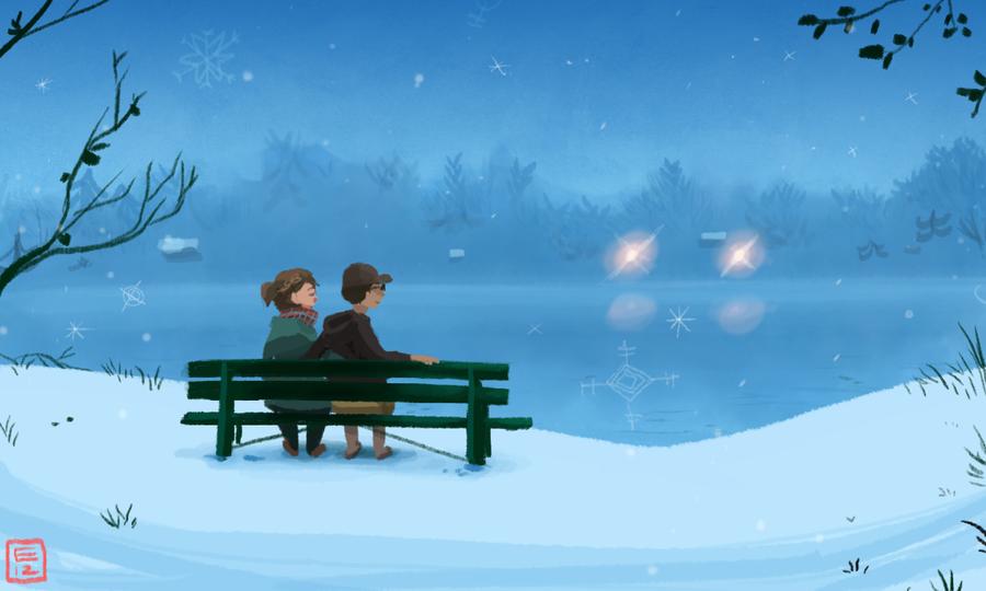 winter_love_by_louiezong-d5hjji3