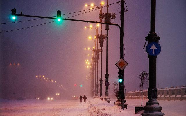 winter mist poem