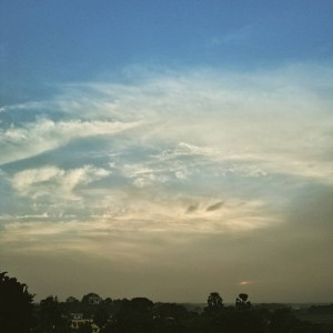 sky as canvas thoughts