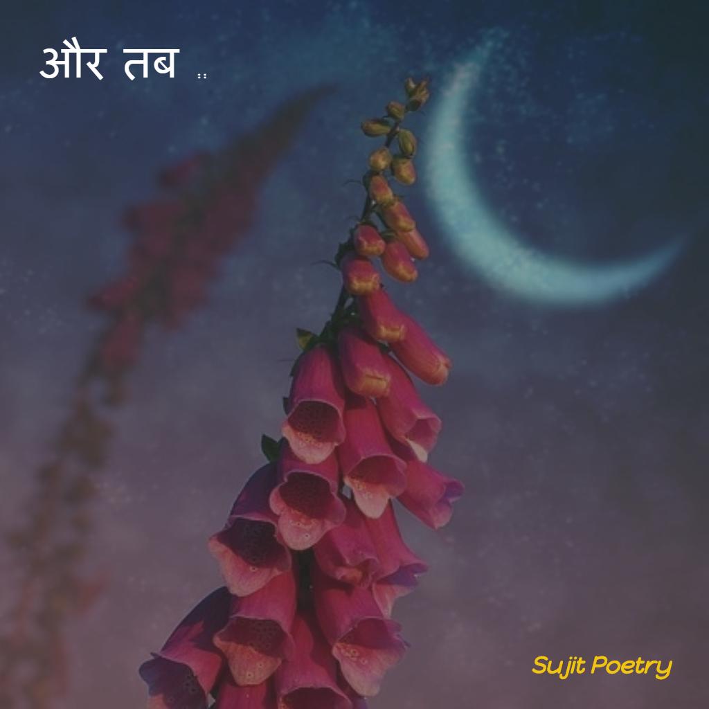 sujit hindi poetry on night talk