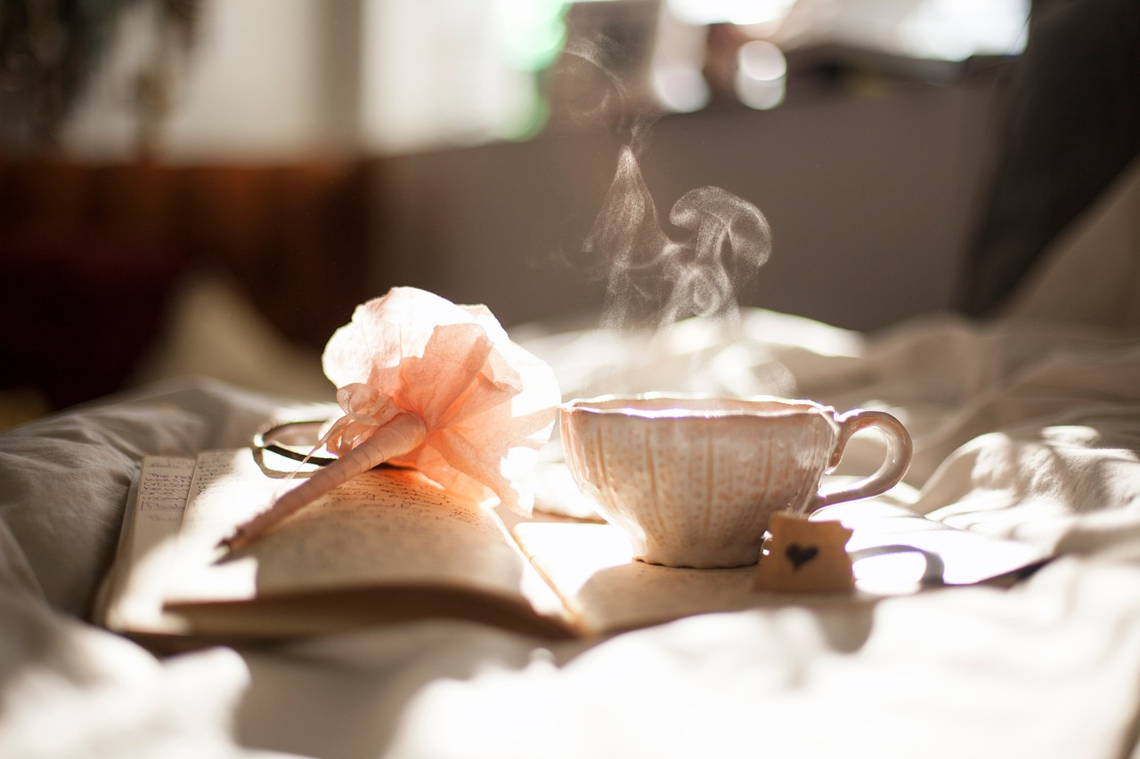 morning tea love hindi poem